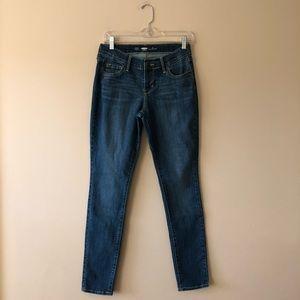 Old Navy medium wash skinny jeans